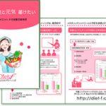 【制作実績】 株式会社ダイエット.F 会社案内リーフレットデザイン